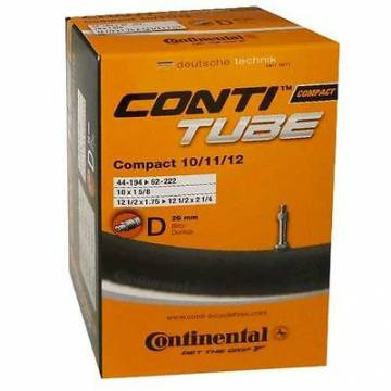 Continental 10-12 (44/62-194/222) Dunlop 40mm sisärengas