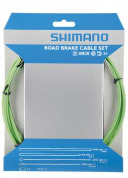 Shimano maantiepyörän jarruvaijerisarja PTFE