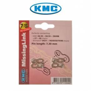 KMC MissingLink 7/8-v ketjulukko, 2 kpl