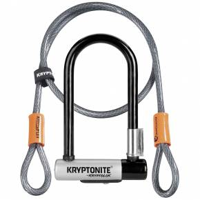 Kryptonite Evolution Mini U-Lock+Cable
