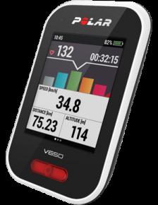 Polar V650 GPS-pyöräilytietokone + Sykevyö
