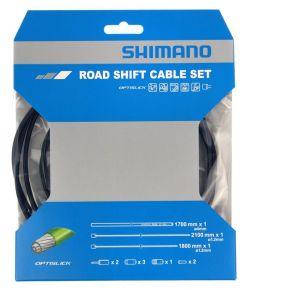 Shimano maantiepyörän vaihdevaijerisarja Optislick
