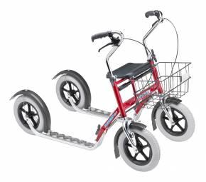 Tuplapotku Nix potkupyörä (pitkä malli)