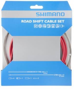 Shimano maantiepyörän vaihdevaijerisarja PTFE