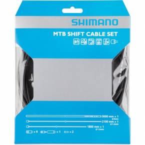 Shimano MTB (Musta) vaihdevaijerisarja
