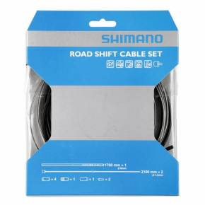 Shimano Road (Musta) vaihdevaijerisarja